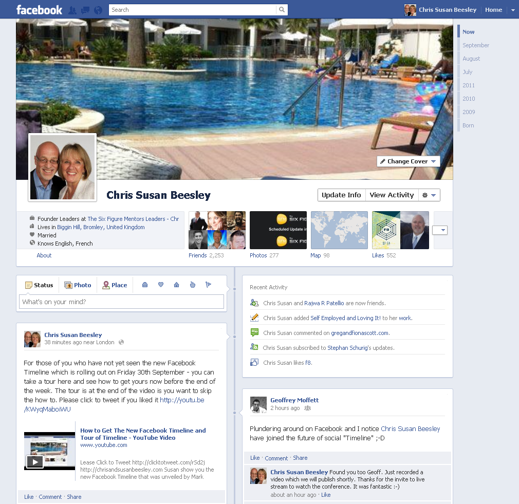 Facebook Timeline Image Chris and Susan Beesley Profile