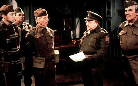 Don't panic, Mr Mainwaring, don't panic!