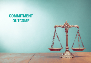 Commitment and Outcomes