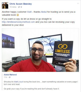 Abdul with Limitless